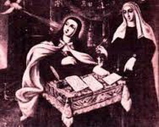 Bl. Anne with St. Teresa
