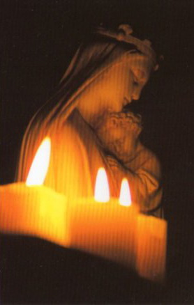 Mary & candles